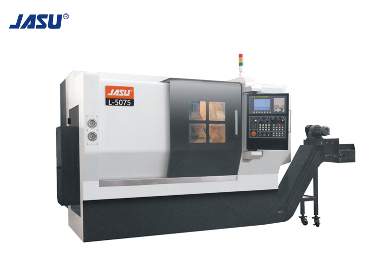 JASU L-5075 2-Axis Linear Guide Horizontal CNC Turning Center